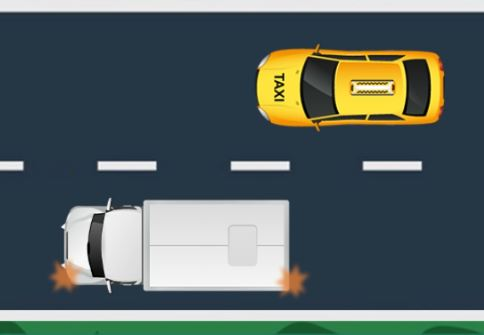 روش سبقت گرفتن در رانندگی